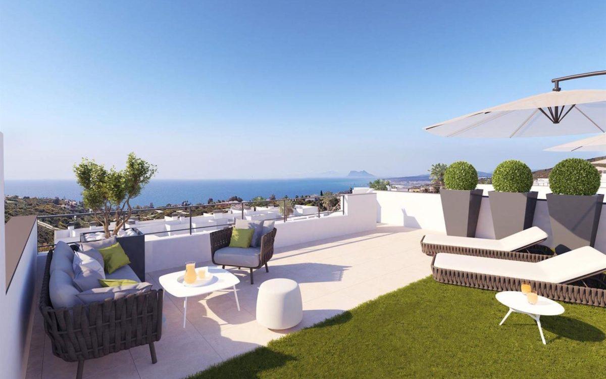 Penthouse à vendre en Espagne avec vue mer
