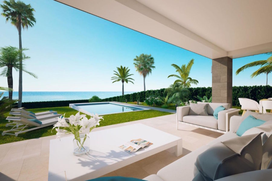 villa-piscine-pas cher-espagne-bord de mer-immobilier