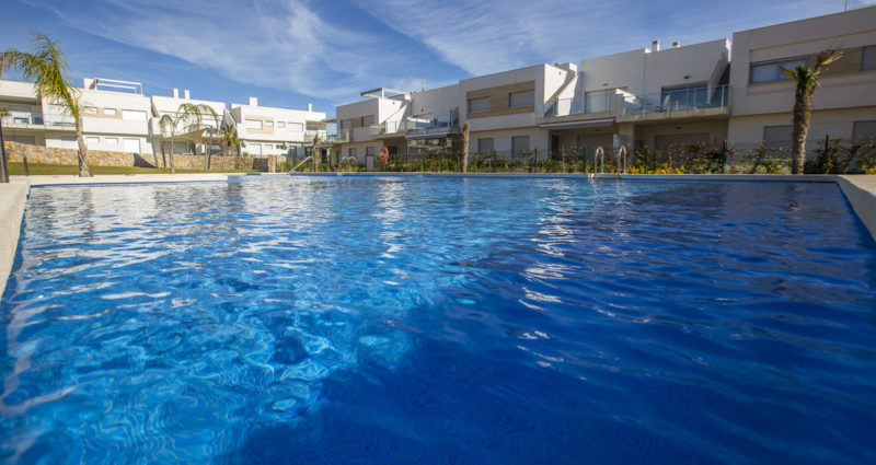 Appartement avec piscine sur la Costa Blanca en Espagne